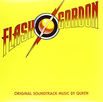 The Flash Gordon soundtrack album by British Rock group, Queen