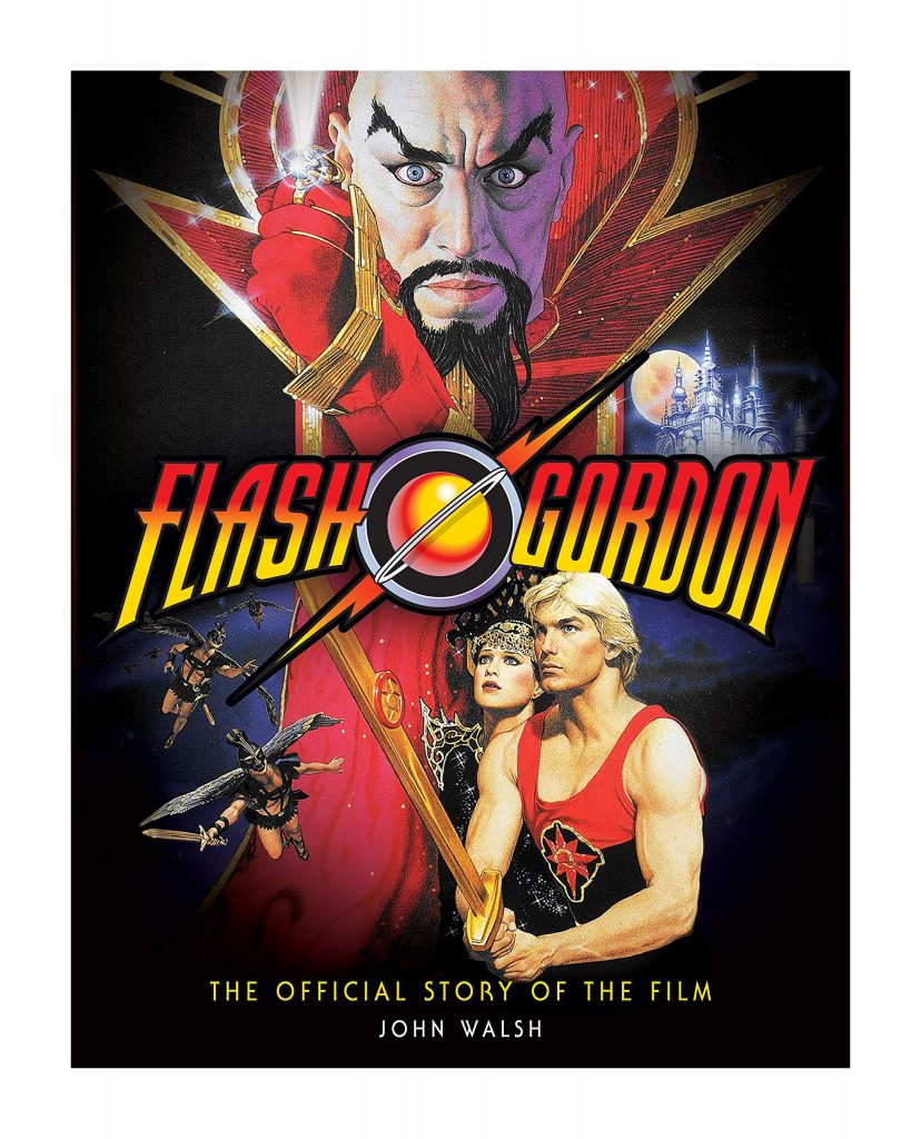 The cover of Flash Gordon - The Official Story by John Walsh