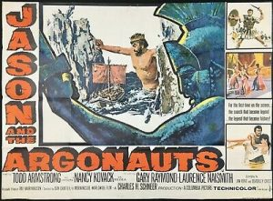 The 'Jason and the Argonauts' film poster