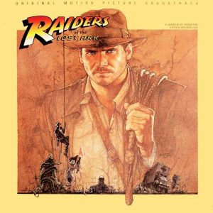 The soundtrack of 'Raiders of the Lost Ark' by composer John Willams
